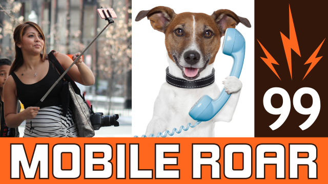 Mobile Roar 99: Selfie sticks get banned, Android 5.1 rolling out, and Tindr for dogs