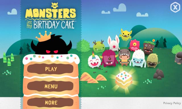 Monsters Ate My Birthday Cake screen shot 2