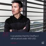 OnePlus 2 450 USD
