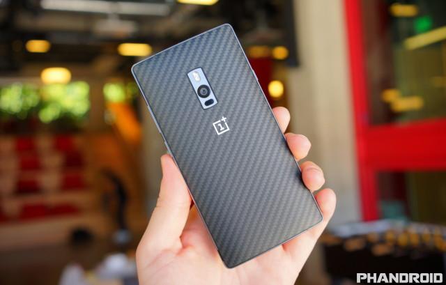 OnePlus 2 kevlar carbon fiber DSC09836
