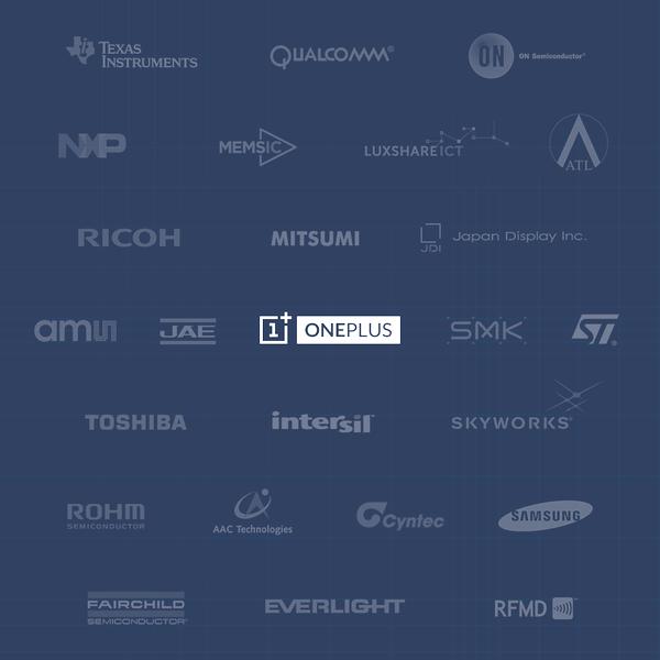 OnePlus 2 partners