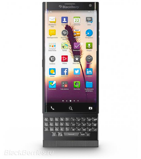BlackBerry Venice slider with Android headed to AT&T