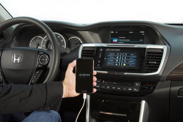 honda accord 2016 android auto