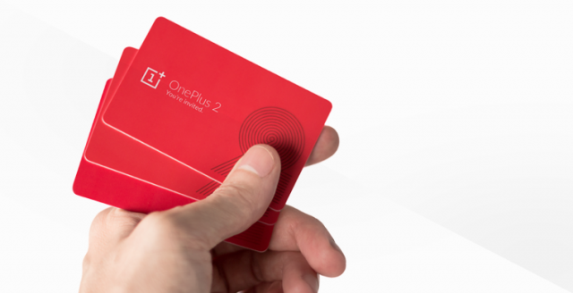 oneplus 2 invite card