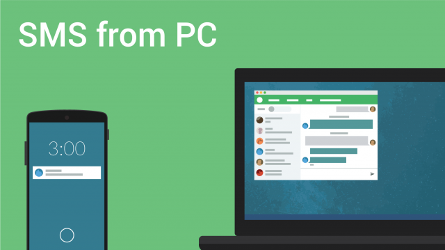 pushbullet sms from pc