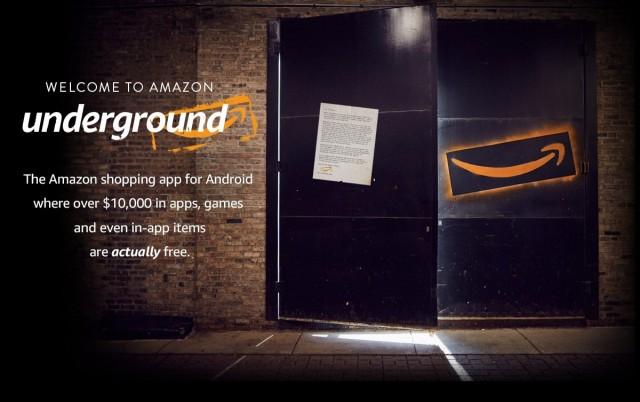 Amazon Underground hero