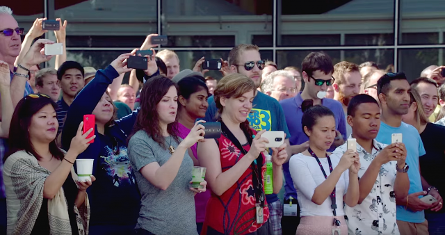 Android Marshmallow reveal video
