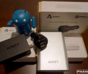 Aukey's Quick Charge chargers