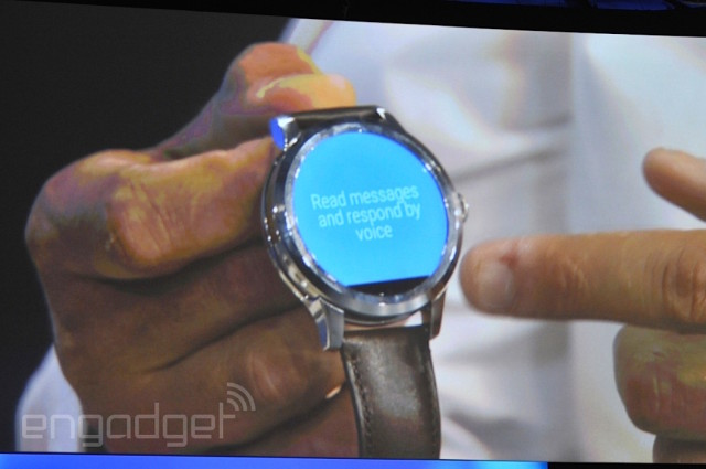 Fossil Android Wear Intel smartwatch 2