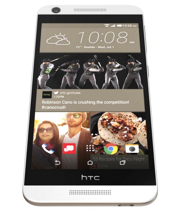 HTC Desire 626 bottom front