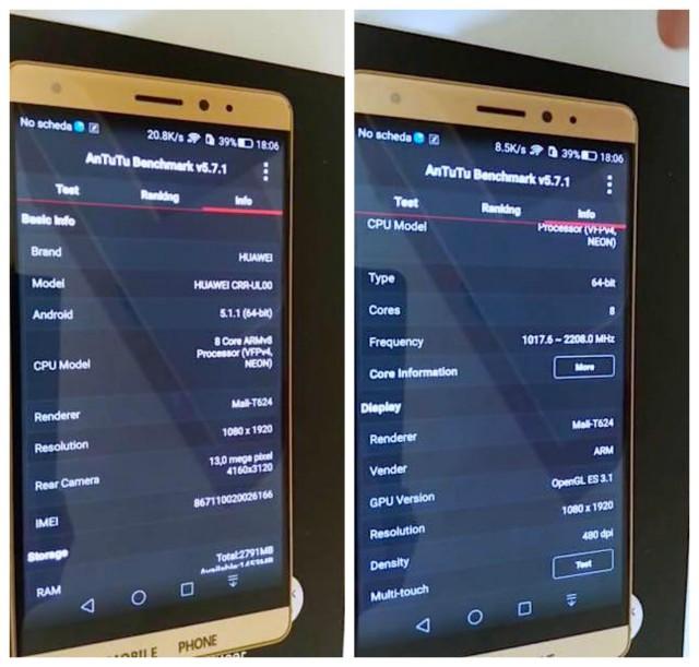 Huawei Mate 7 Mini Plus