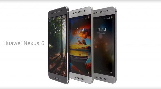 Huawei Nexus 6 product video concept