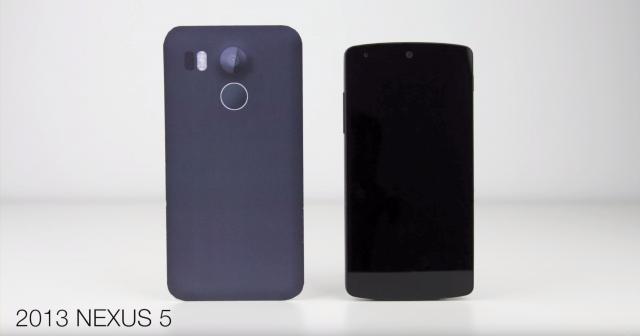 LG Nexus 2015 vs 2013