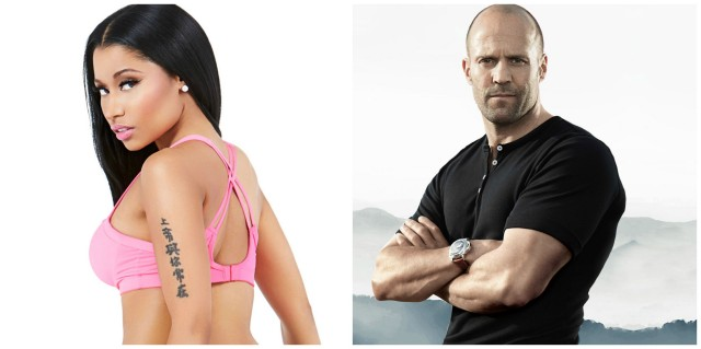 Nicki Minaj Jason Statham video game