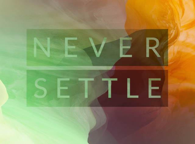 OnePlus 2 wallpaper never_settle