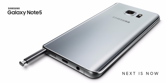 Samsung-Galaxy Note5_Silver Titanium_OOH