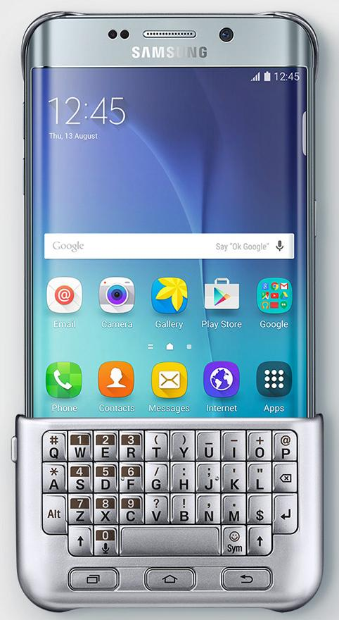 Samsung Galaxy S6 Edge Plus keyboard cover