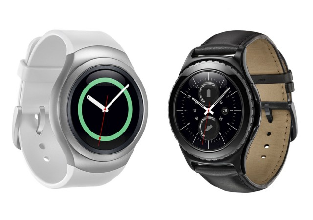 Samsung Gear S2 Classic smartwatches