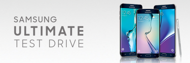 Samsung Ultimate Test Drive promo