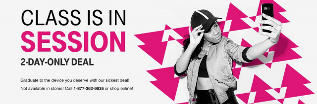 T-Mobile back to school sale