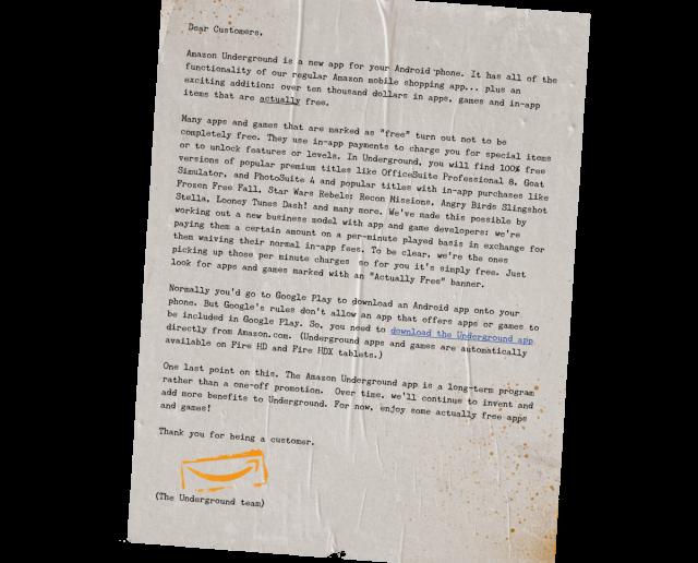 amazon underground letter cropped