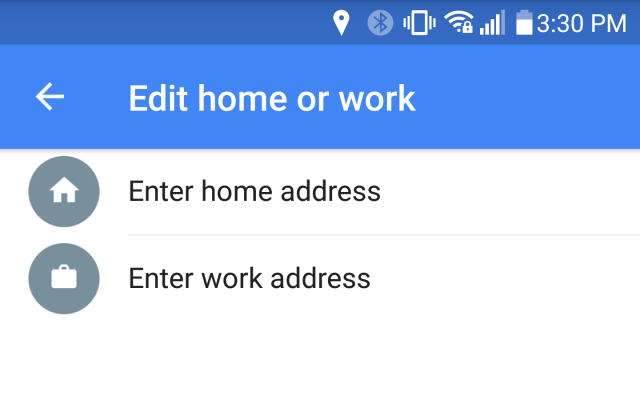 google maps home work