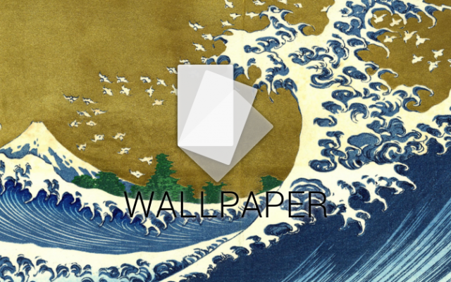 wave wallpaper