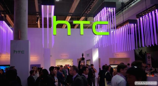 HTC logo booth