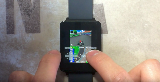 Nintendo DS emulator running on Android Wear smartwatch ...