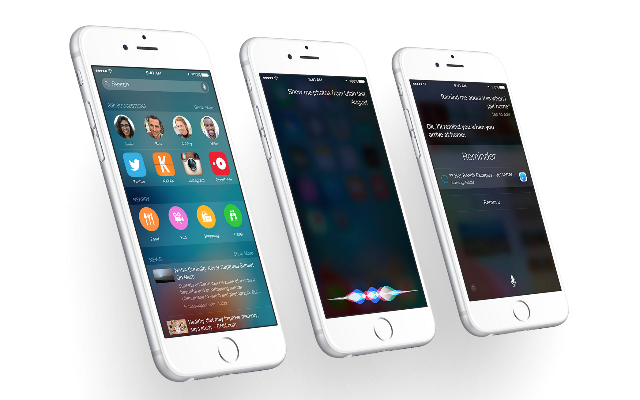 how to use siri on iphone 6s