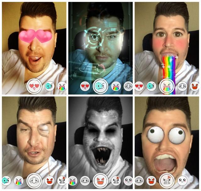 Snapchat Lenses update