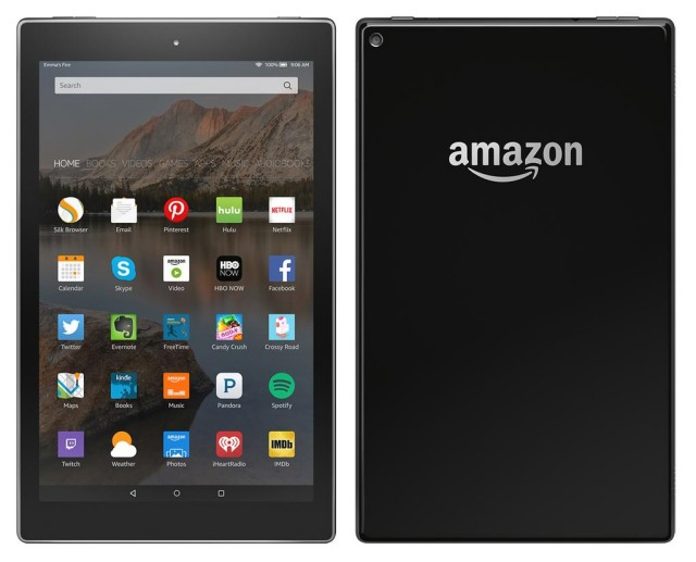 amazon kindle fire tablet 10-inch leak