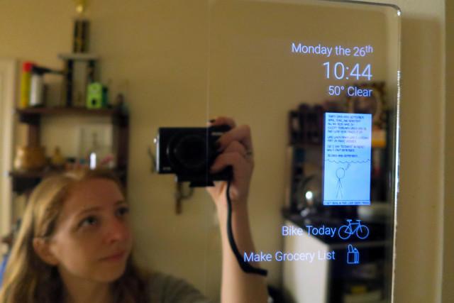 Android smart mirror DIY