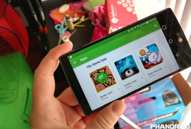 Google Play EA Chillingo 10 cent sale