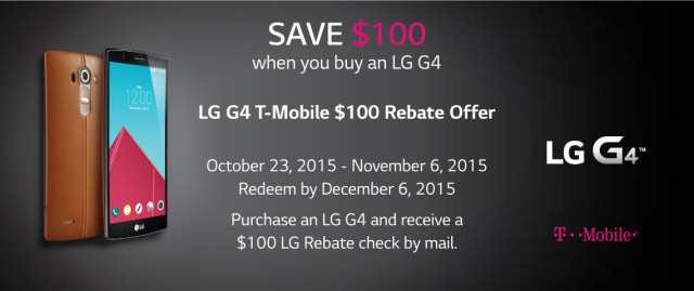 LG-G4-T-Mobile-$100-Rebate-Offer-Promo