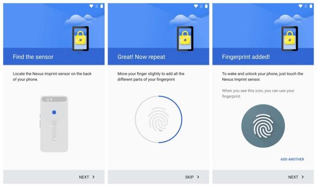 Nexus 6P Nexus Imprint fingerprint scanner