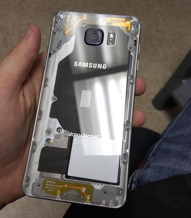 Samsung Galaxy DIY clear back cover 5 SbQjVMV