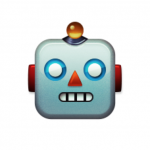 Unicode 8.0 emoji robot