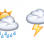 Unicode 8.0 emoji weather