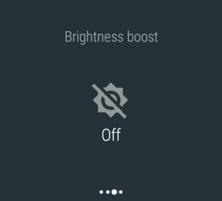 brightness boost