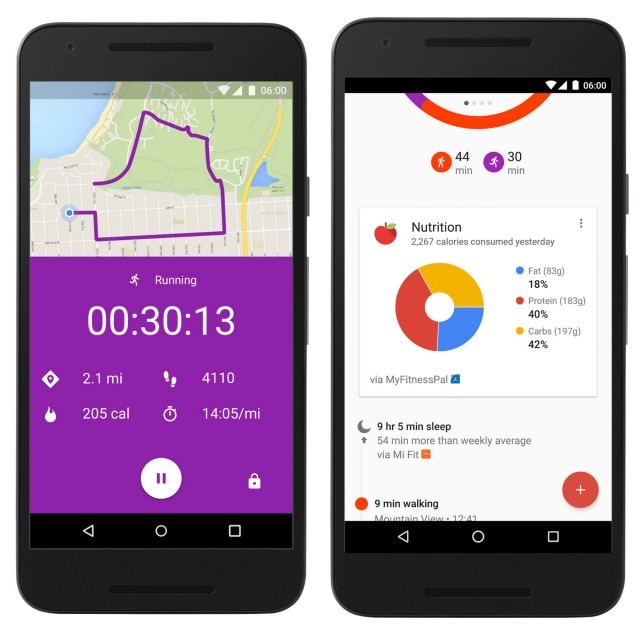 Google Fit 1.55.44 update