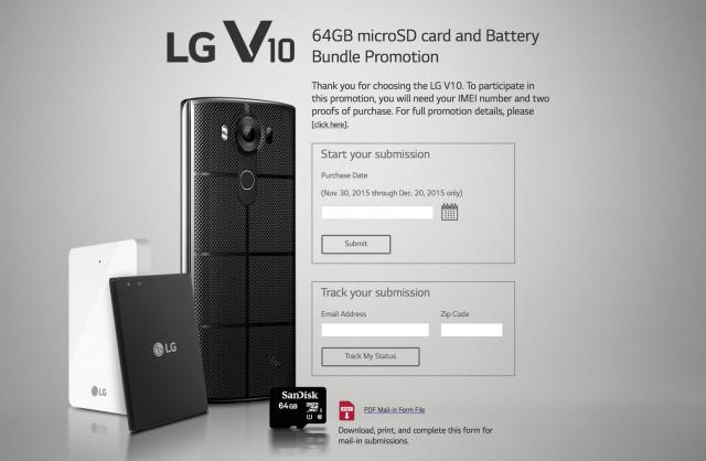 LG V10 promo