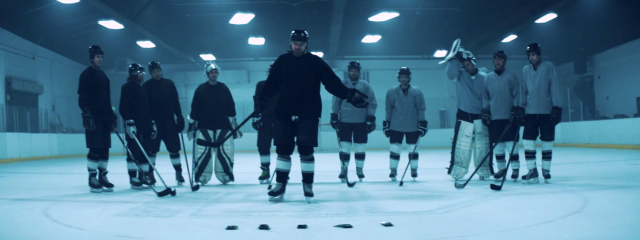 Samsung Galaxy S6 Active hockey puck test 1