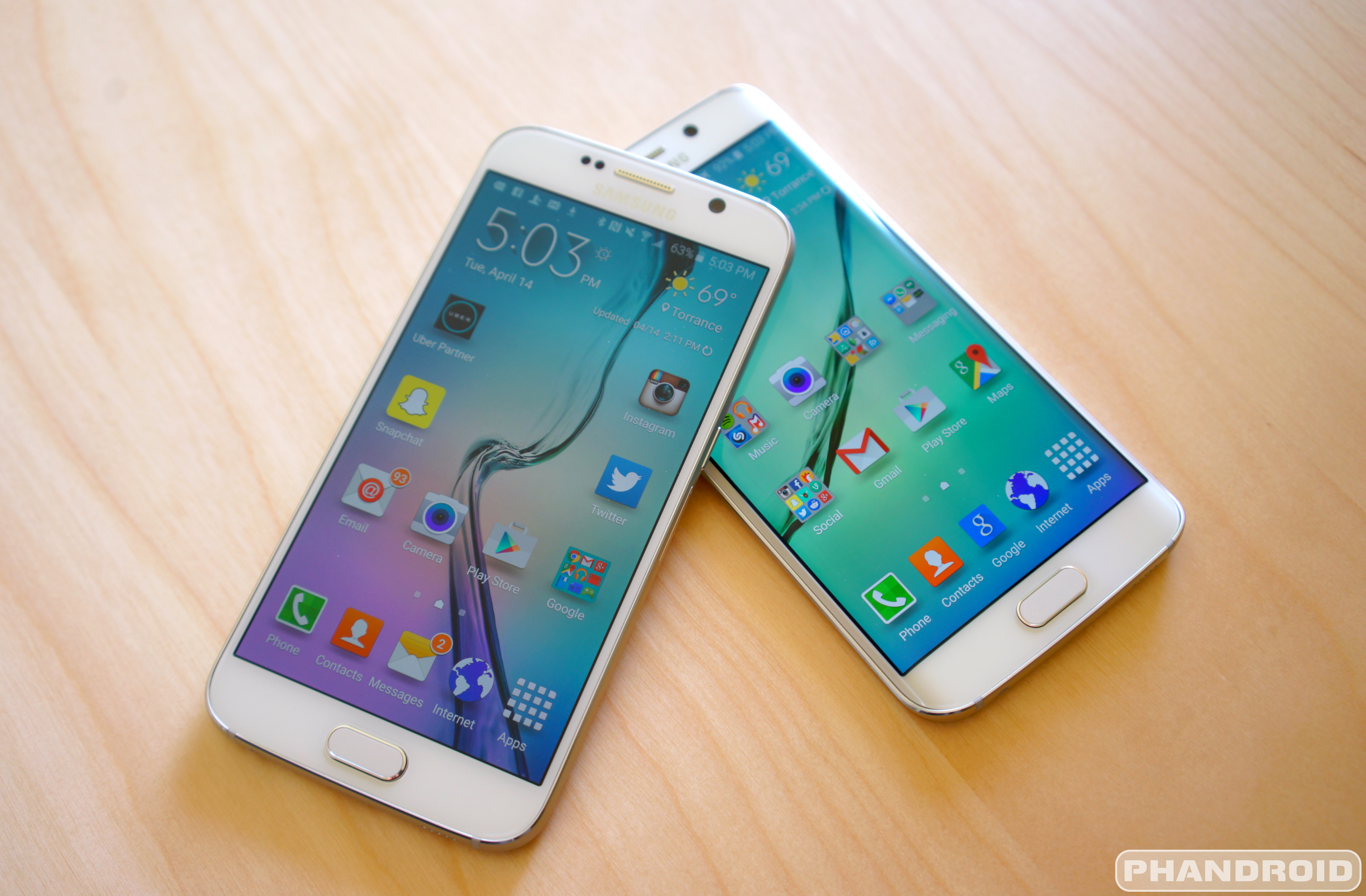 Camera New Samsung Android Phones things to do with your new android phone phandroid samsung galaxy s6 hero