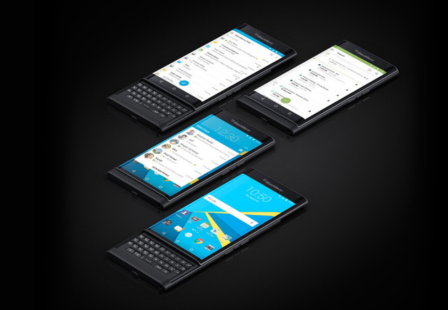 blackberry priv devices