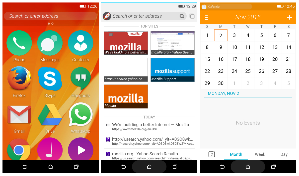 Phone Android Phone Os Download firefox os 2 5 can now be previewed as an android app os