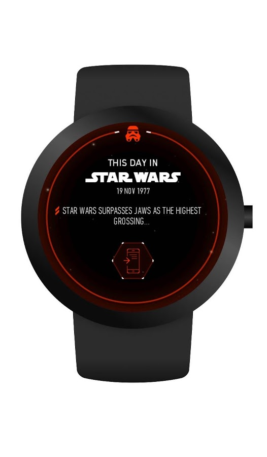 star wars watch face