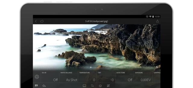 Adobe Photoshop Lightroom Android