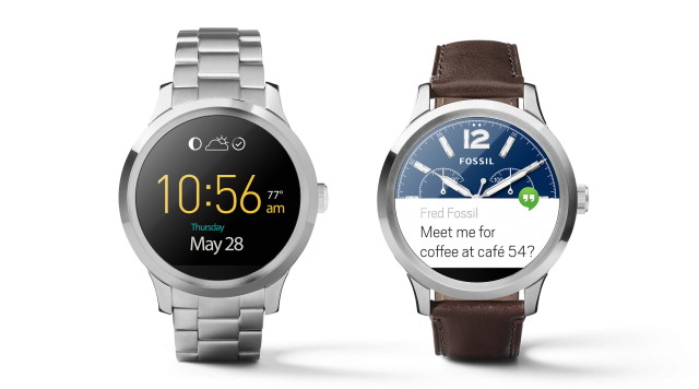 Fossil Q Founder now available on Google Store