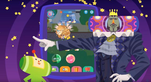 Touch My Katamari Android gameplay